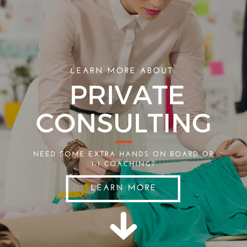 PRIVATE CONSULTING FOR FASHION BRANDS