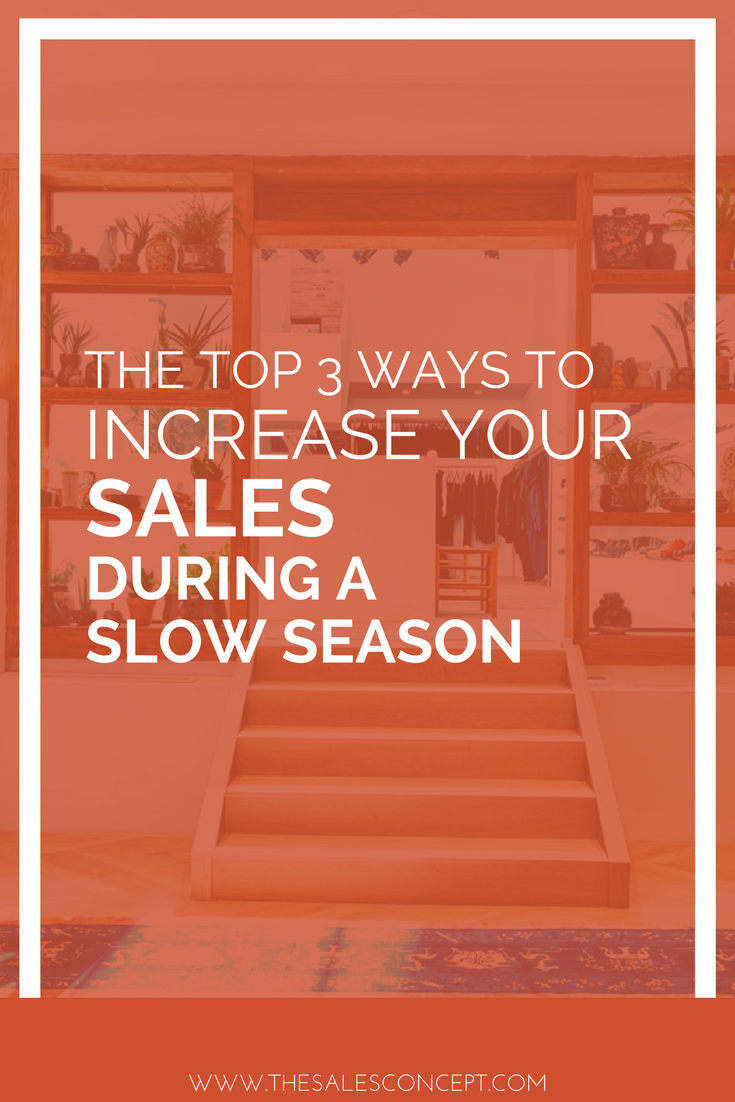 how to increase your fashion sales even during a slow season