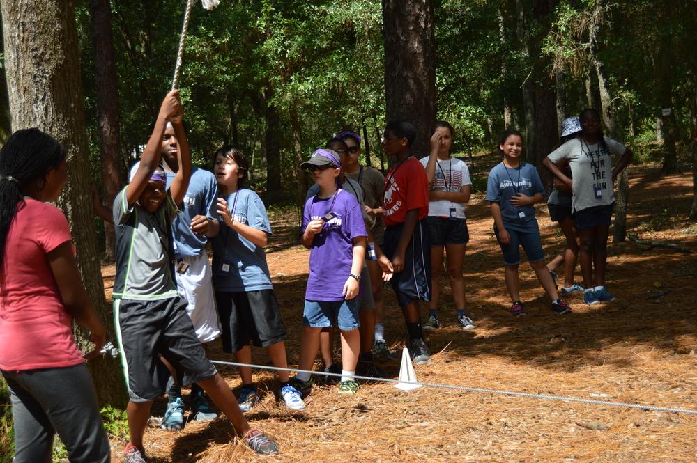 Camp florida in summer teen