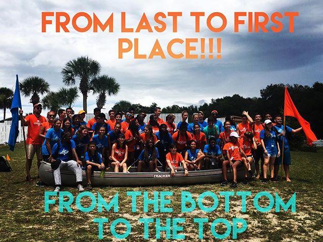 #FTCLimitless #FloridaTeenCamp #OrangeAndTealAlliance #canoeraces2016