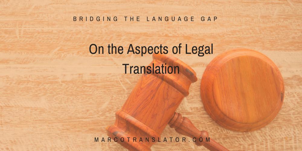 Spanish legal translation