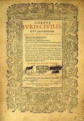 Roman Law, Corpus Iuris Civilis