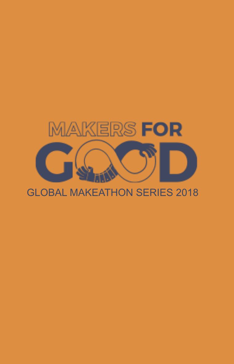 "MAKERS FOR GOOD MAKATHON   The following is placeholder text known as ""lorem ipsum,"" which is scrambled Latin used by designers to mimic real copy. Aenean eu justo sed elit dignissim aliquam. In sit amet felis malesuada,"
