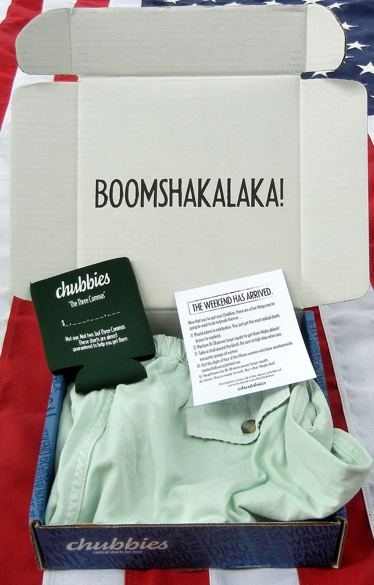 "Chubbies Shorts has this ""BOOMSHAKALAKA!"", You usually just expect shorts but they shout at you BOOMSHAKALA!! Plus they tell you that with this shorts you will make a 10 figure business, and they added some funny instructions we gonna analyze deeper."