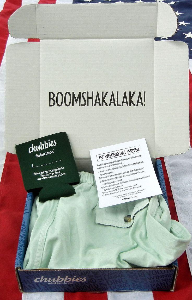 """Los Chubbies Shorts tienen su """"BOOMSHAKALAKA!"""", usualmente uno sólo esperaría encontrar shorts pero ellos te tiran un BOOMSHAKALA!! Además de decirte que gracias a esos shorts vas a ser millonario. Además le agregaron unas instrucciones que analizaremos más adelante."""