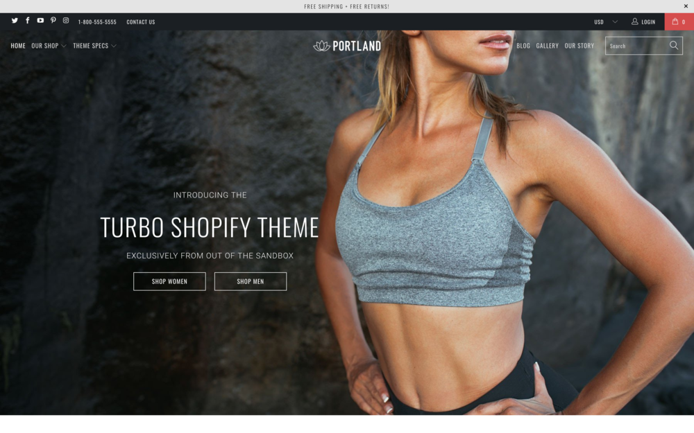 Turbo theme shopify best themes