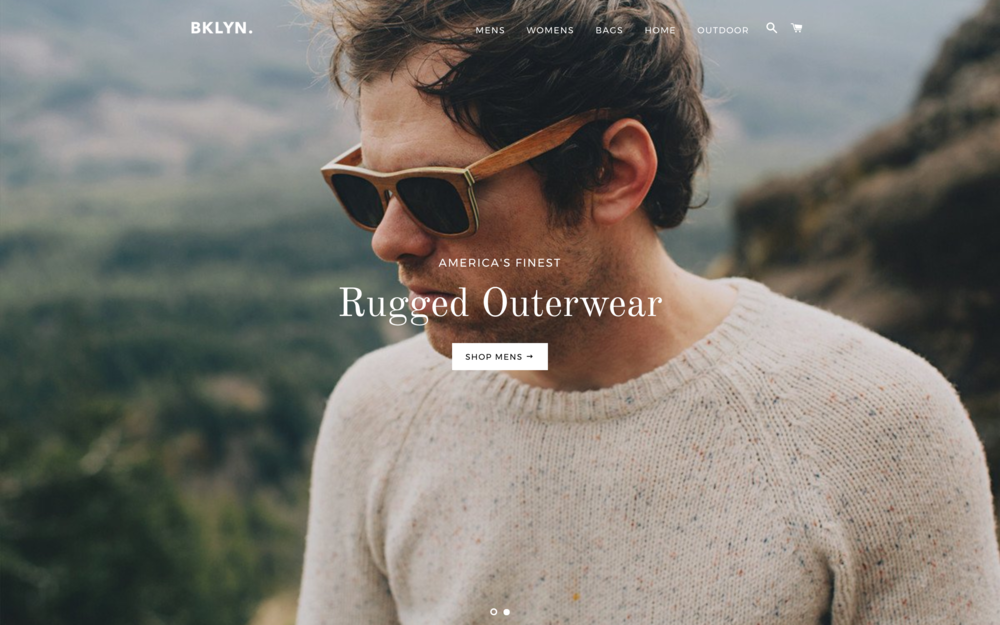 Brooklyn theme best shopify themes