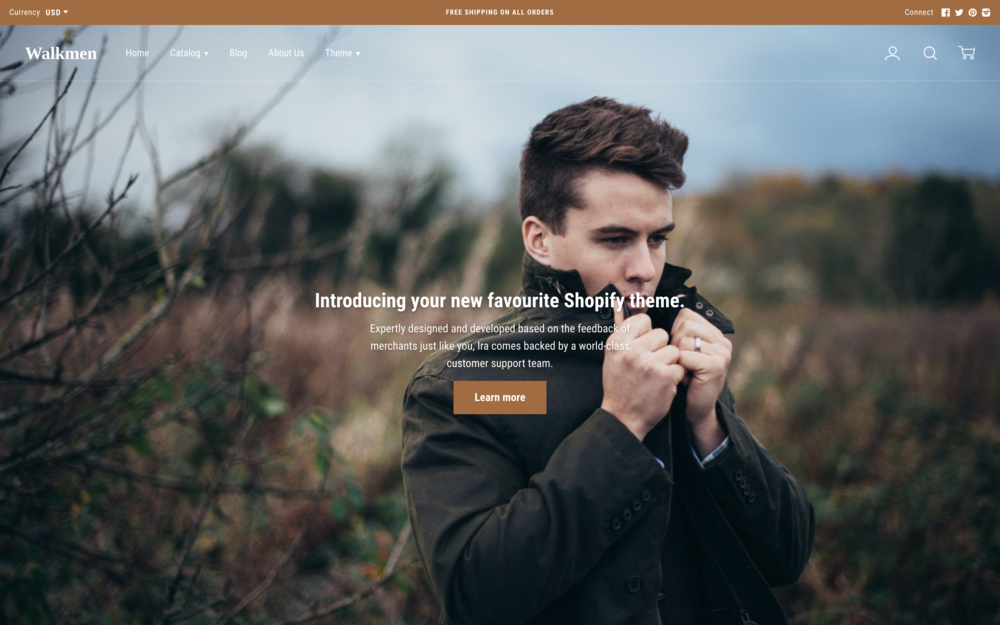 Ira Theme  best shopify themes
