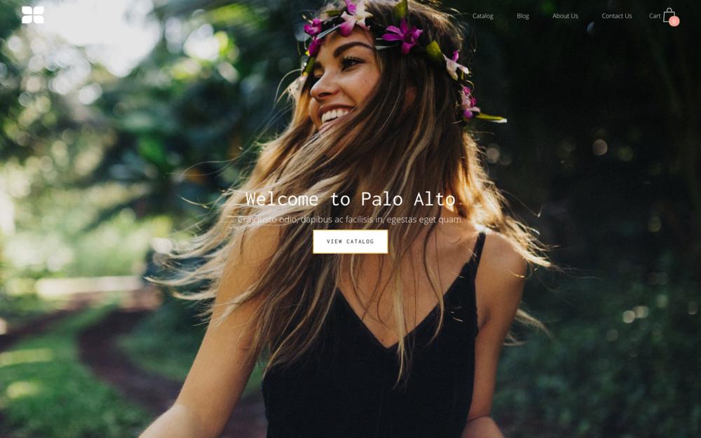 Palo Alto Theme  best shopify themes