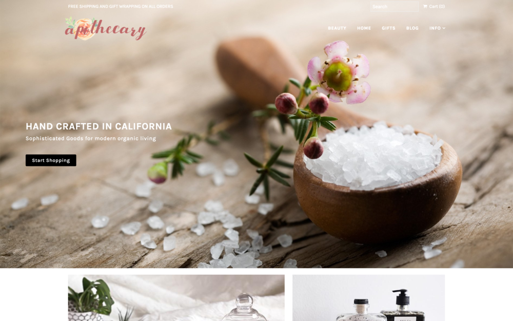 Mr Parker. Theme  best shopify themes