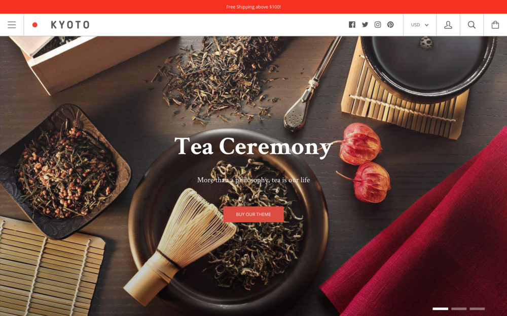 Kagami Theme Best Shopify Themes