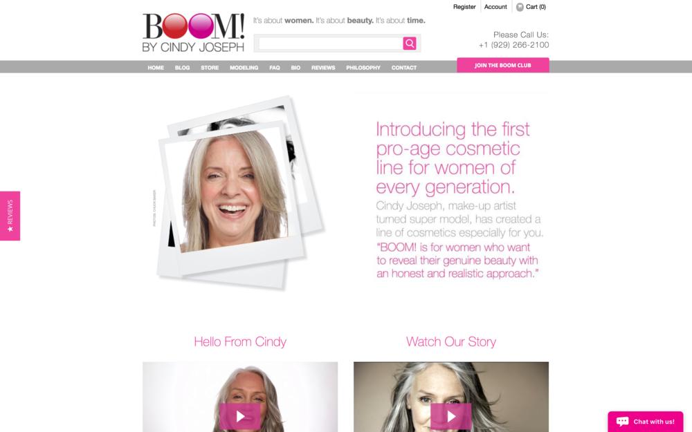 Boom! by Cindy Joseph