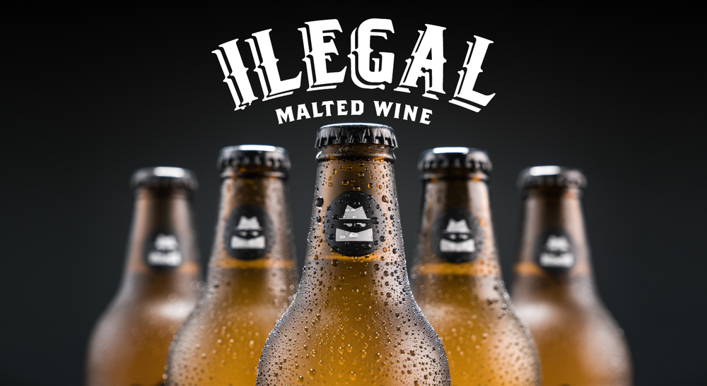 ILEGAL MALTED WINE