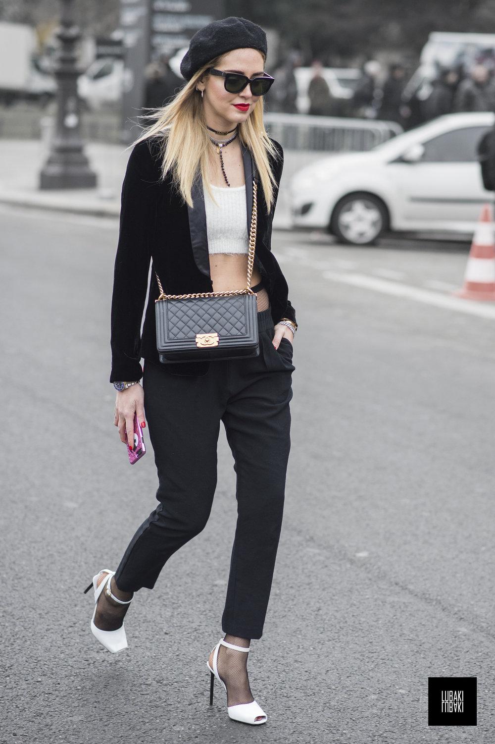 Chiara Ferragni - Paris
