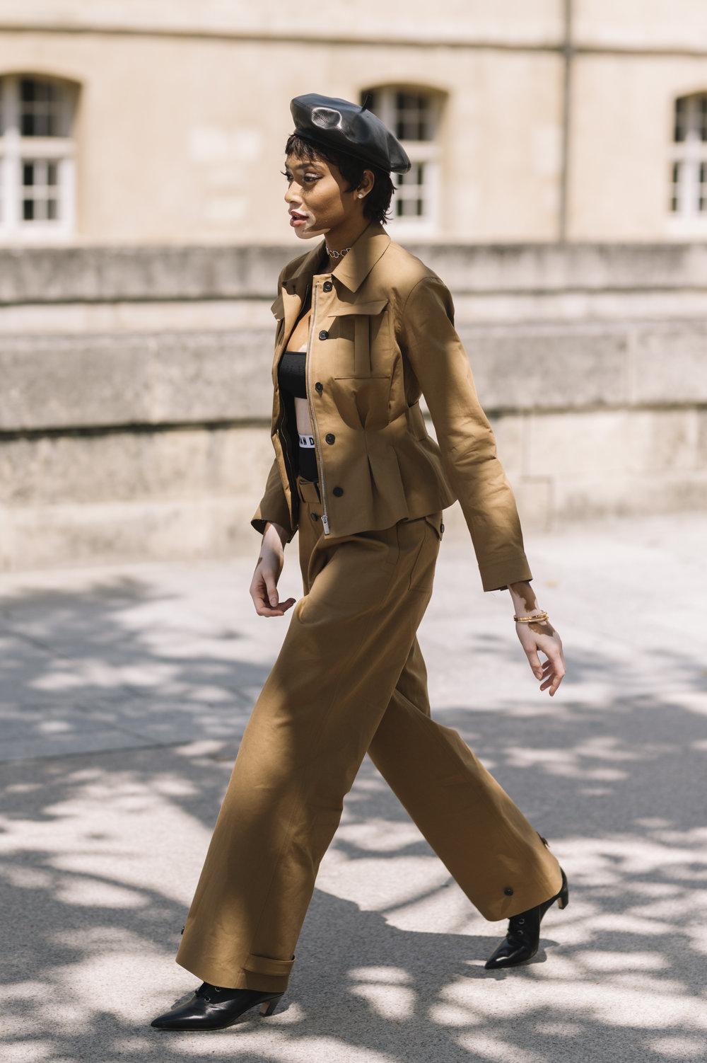 Winnie Harlow - Paris