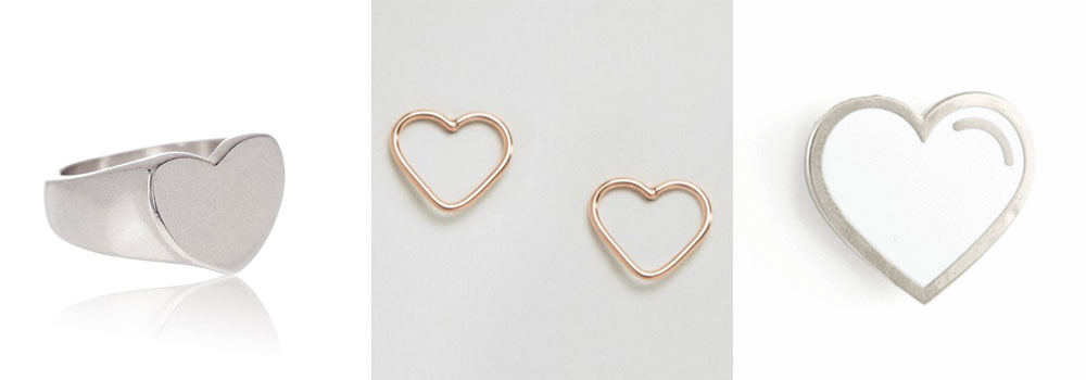 l to r:  ring  |  earrings  (under $10!) |  pin