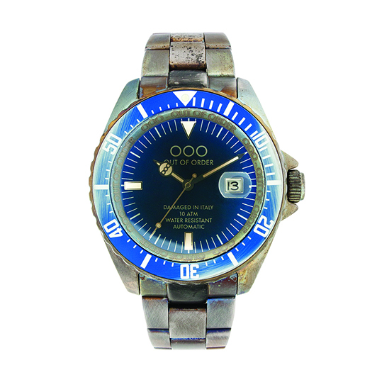 Out Of Order 44mm - Automatic Movement - Blue