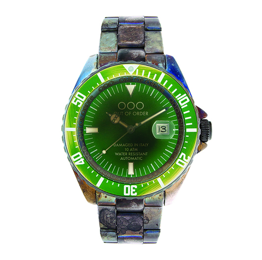 Out Of Order 44mm - Automatic Movement - Green