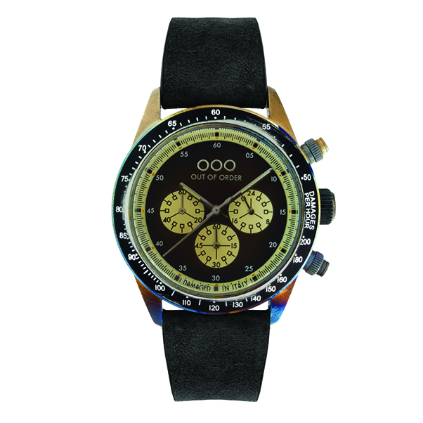Out Of Order - 42mm Black/Black Chronograph