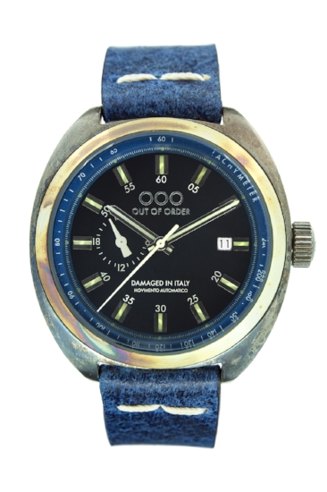 Out Of Order - Automatic Watch - Torpedine - Blue