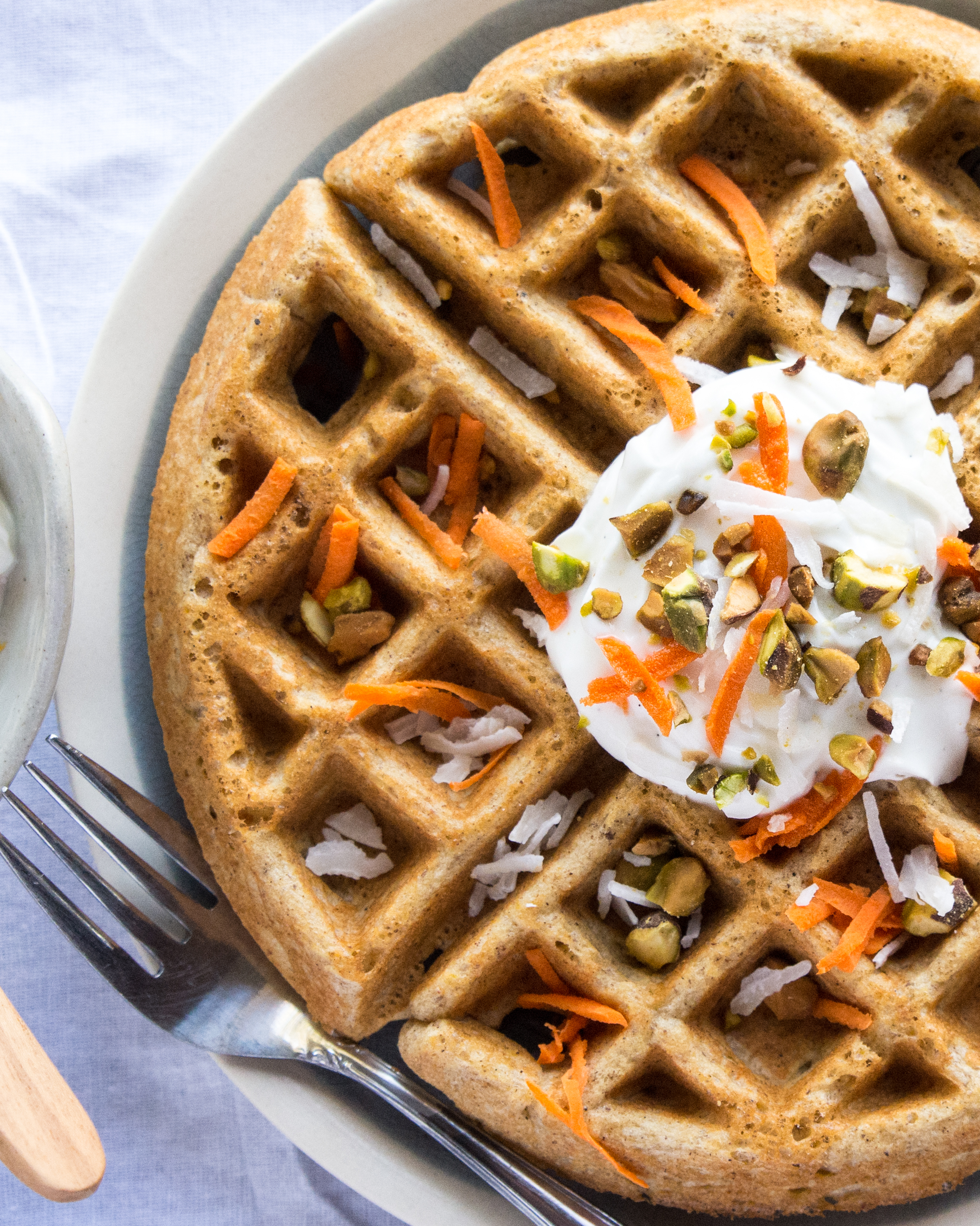 gluten-free-carrot-cake-waffles