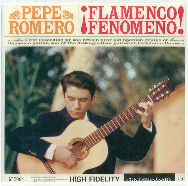 Flamenco Fenomeno! Recorded 1959: Contemporary • Catalog no. LP S-9004 Re-release 1993: Contemporary CD • Catalog no. CCD 14070-2