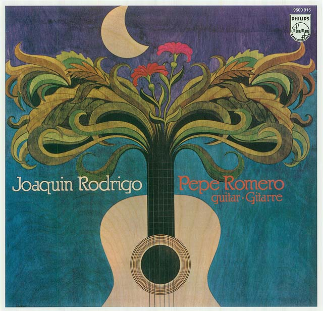 Joaquín Rodrigo/Pepe Romero guitar (solo works) Recorded 1980: Philips LP • Catalog no. 9500 915