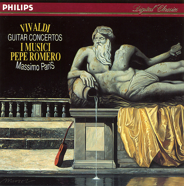 Vivaldi Guitar Concertos I Musici, Pepe Romero, Massimo Paris Recorded 1991: Philips CD • Catalog no. 434 082-2
