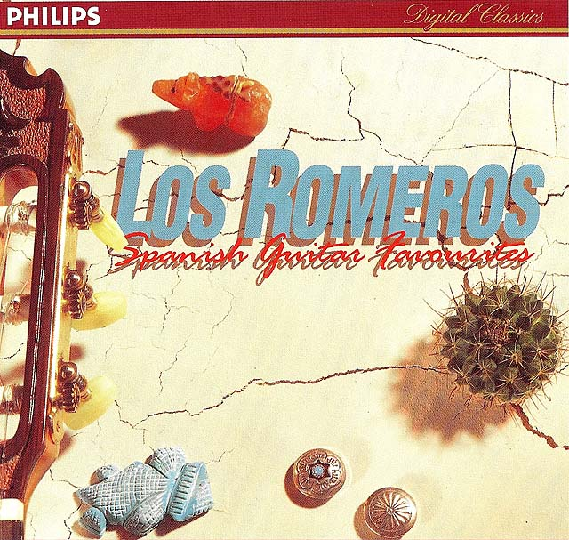 Los Romeros: Spanish Guitar Favorites (Celedonio, Celin, Pepe, Celino Romero) Recorded 1993: Philips CD • Catalog no. 442 781-2
