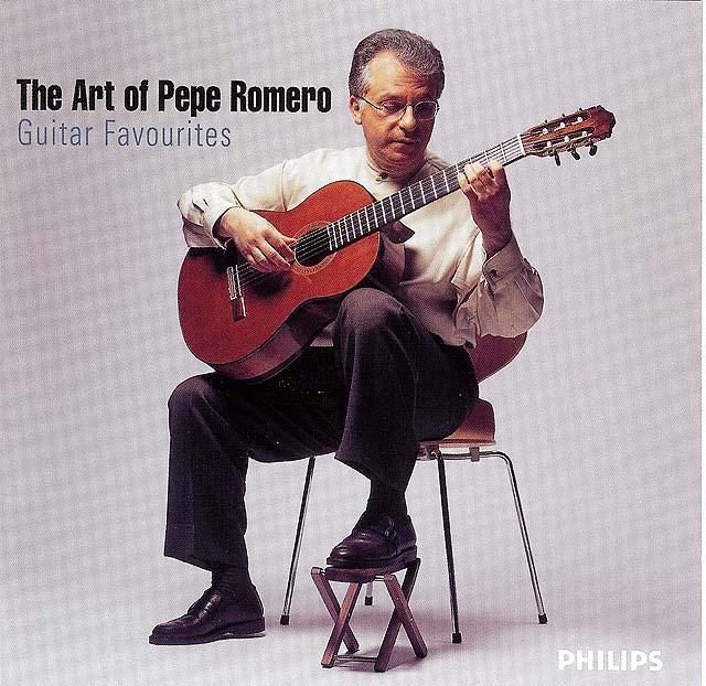 The Art of Pepe Romero Re-release 2005-2 CD set: Philips • Catalog no. 475 6360