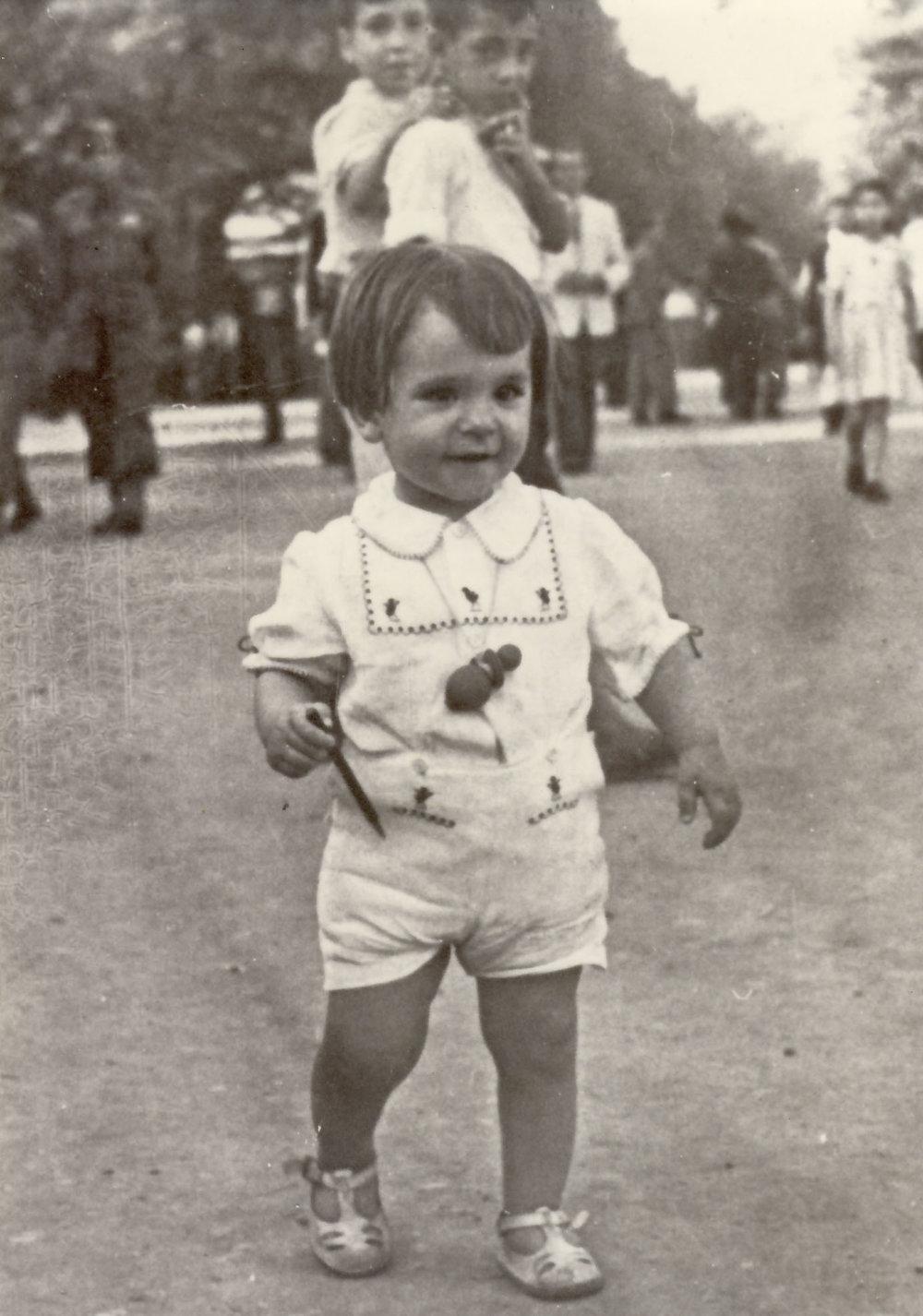 Pepe in Malaga 1946