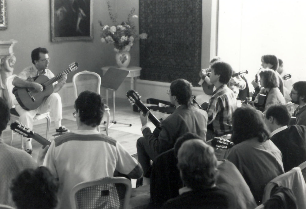 Master class in Baden, Switzerland 1988