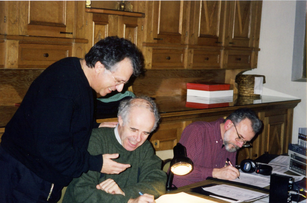 Philips recording ''Songs My Father Taught Me'' Pepe with Wilhelm Hellweg, John Newton