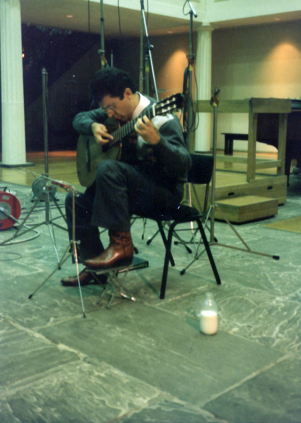 Recording ¨Pepe Romero: Bach¨
