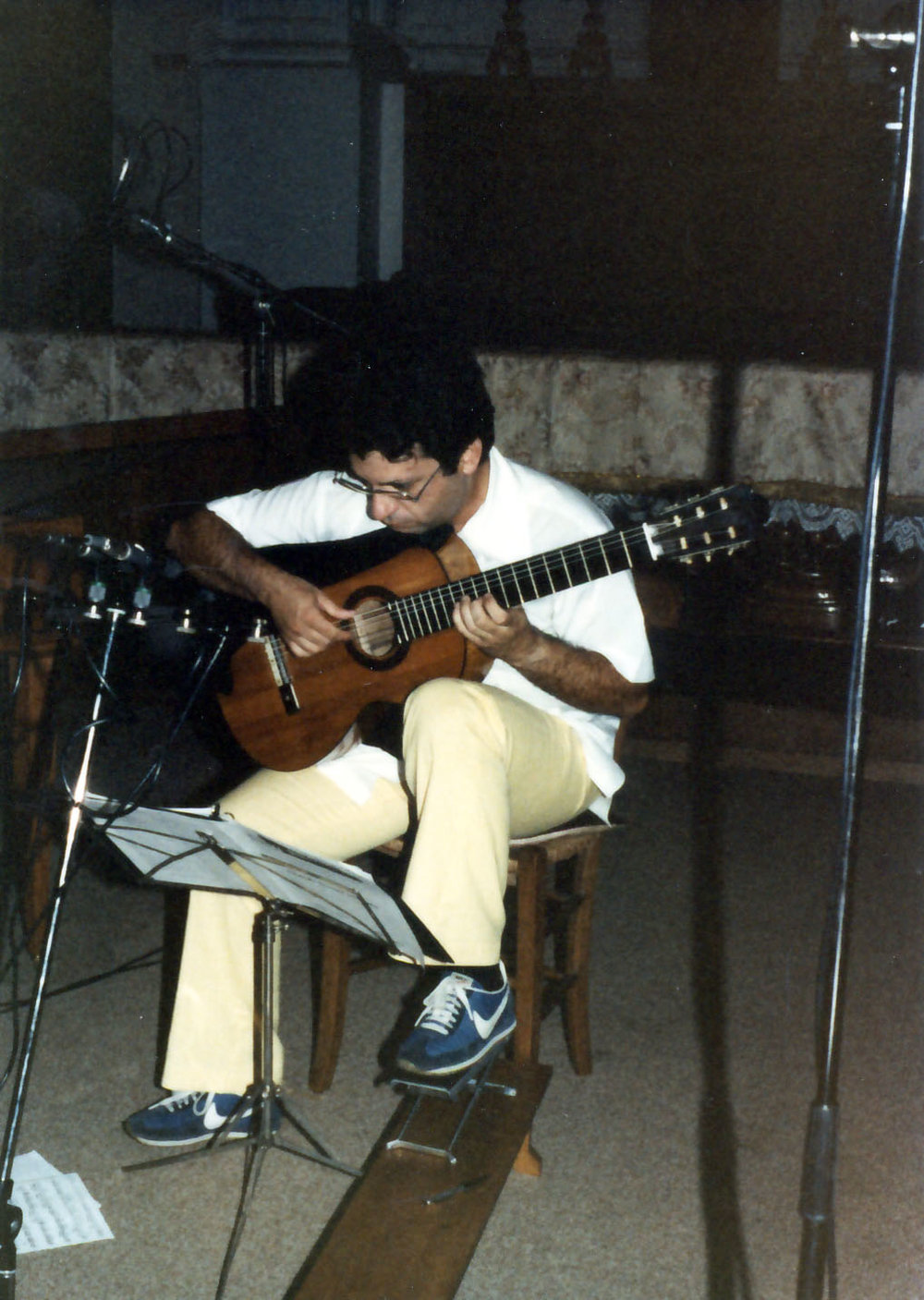 Recording on 1856 Torres guitar