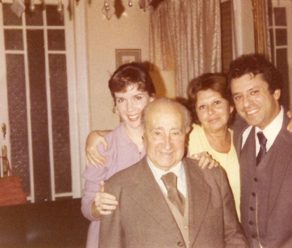 Carissa, Federico Moreno Torroba, his daughter, Mariana, Pepe