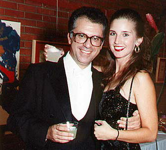 Pepe with his daughter, Angelina, following their joint recital
