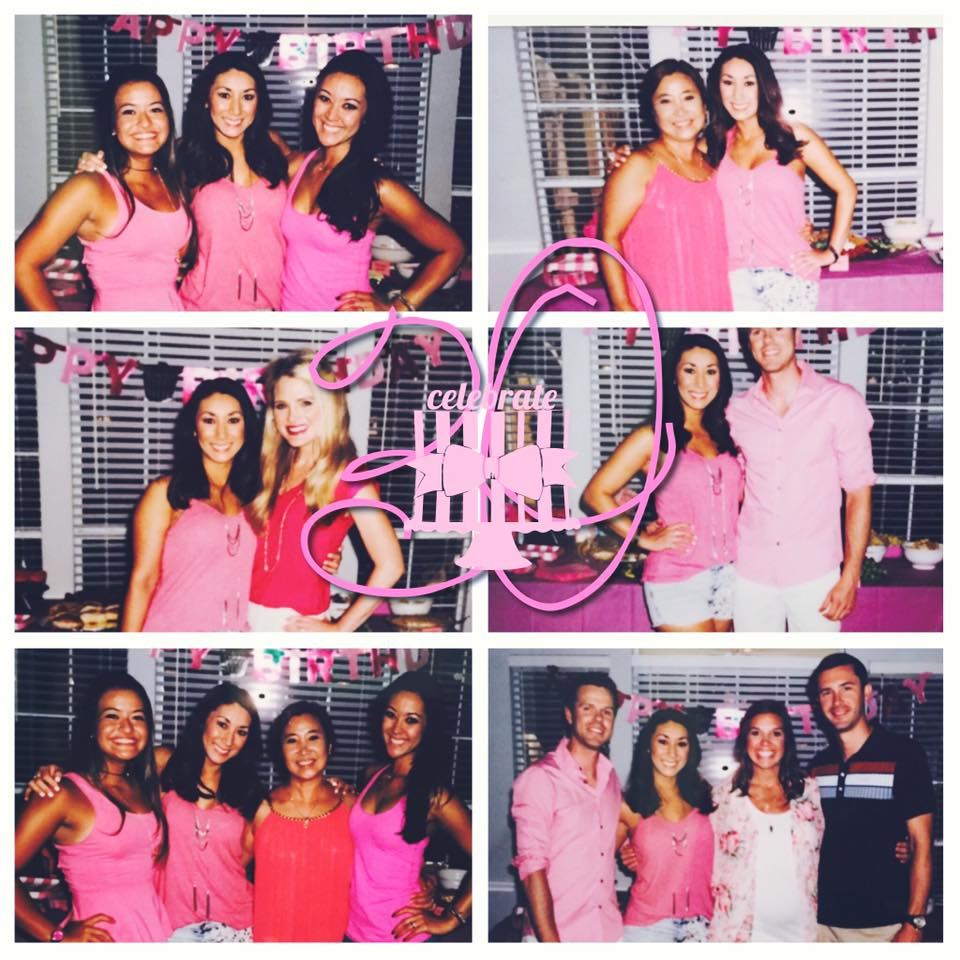 My Pink Party to celebrate my 30th birthday!