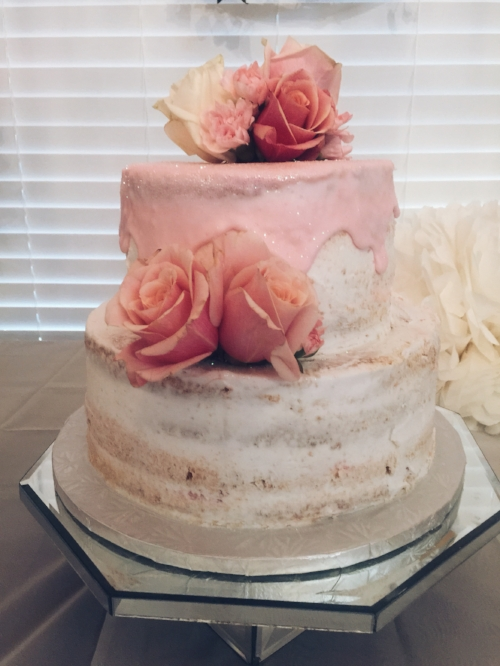 This cake is from Opulent Cakes.. the same people who did my wedding cake!