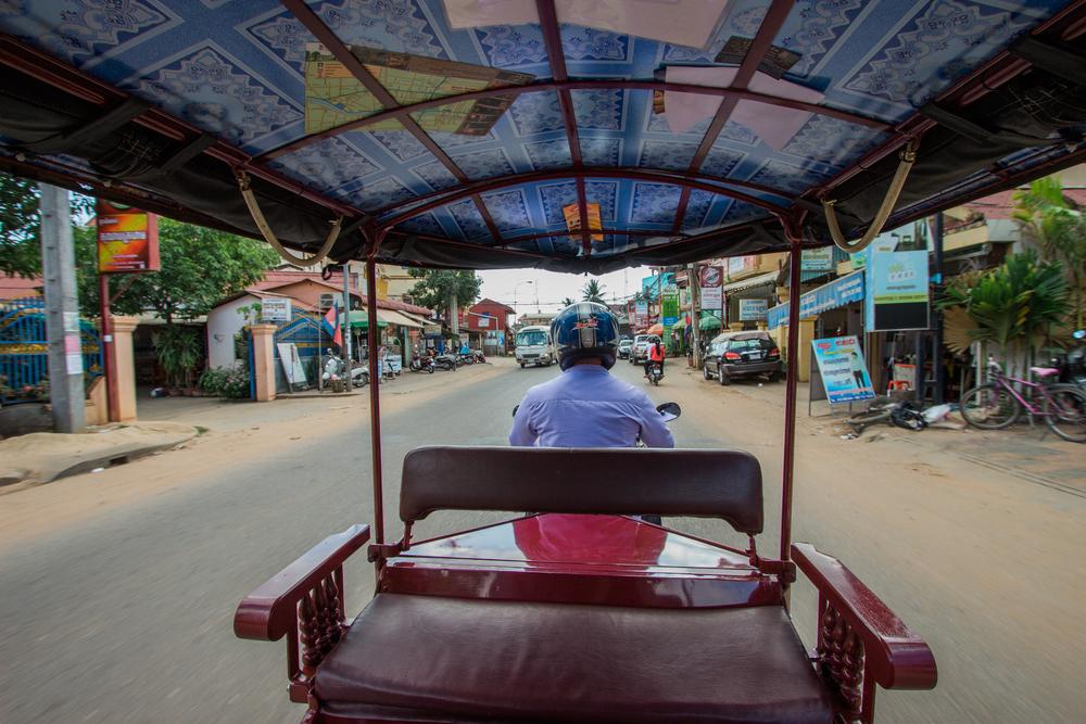 Siem Reap Tuk Tuk Old Market