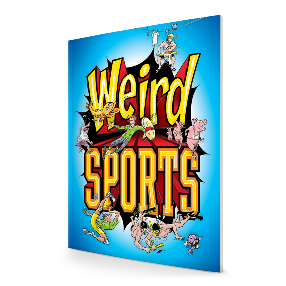 Bizarre Sports in a Splashy Format