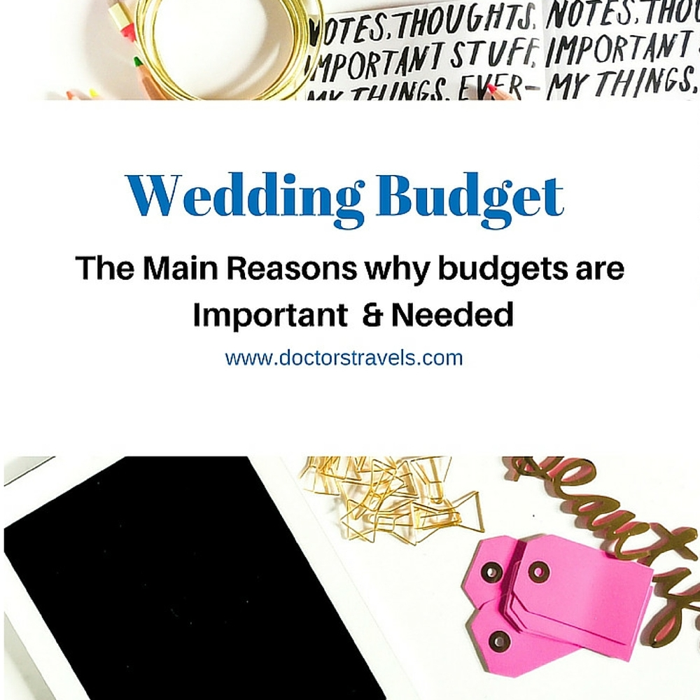 Why budgets are important? Doctor's Travel