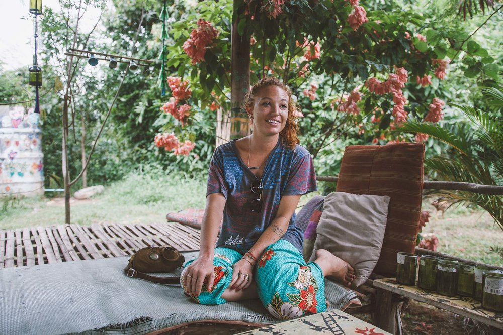 Rachel, Founder of the Red Road Foundation & local Kampot resident