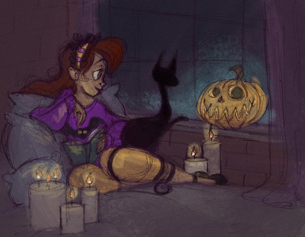 Cozy Spoopy Halloween