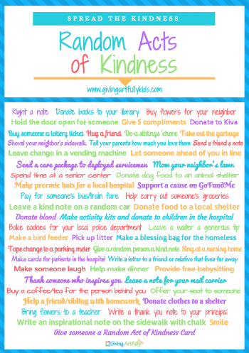 Random Acts of Kindness Guide