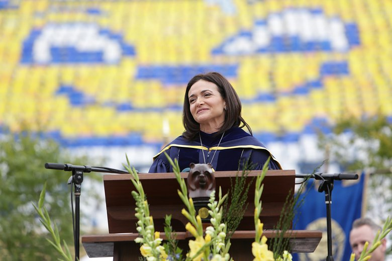 """I'm not gonna tell you today what I learned in life. Today I'm going to try to tell you what I learned in death... I learned that in the face of the void, or in the face of any challenge, you can choose joy and meaning."" Sheryl Sandberg speaking about her husband's death for the first time."