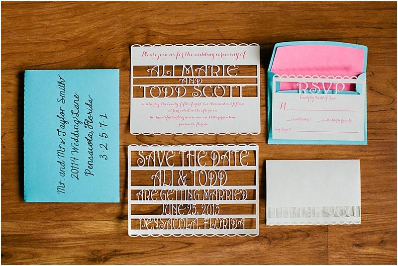 grace and serendipity - custom invitation design