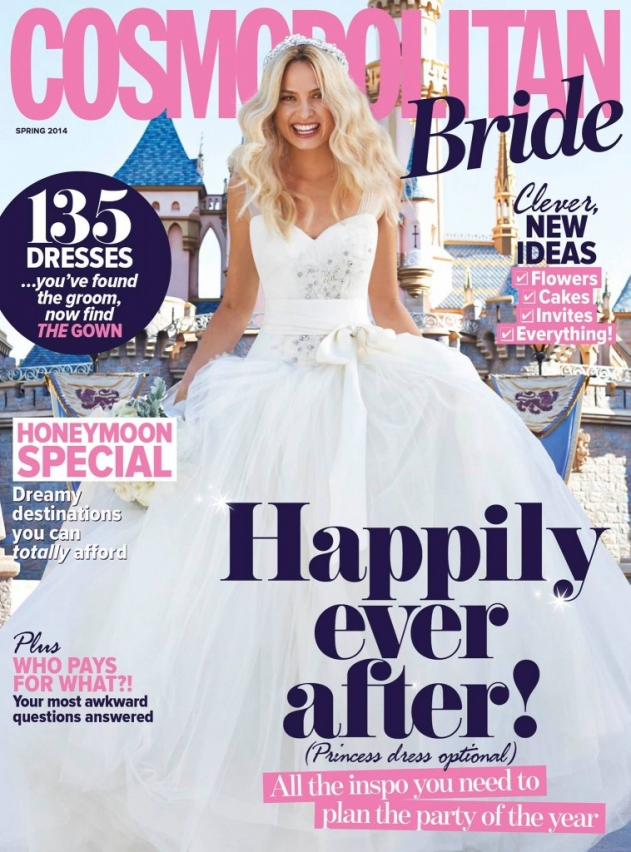 grace and serendipity - featured (as kristins grace) in cosmopolitan bride magazine