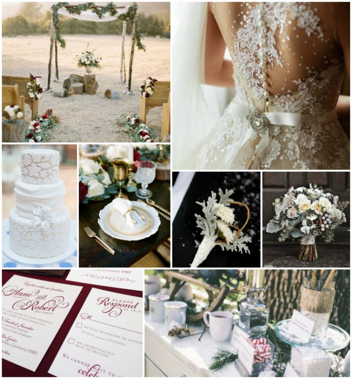 grace and serendipity - winter wedding inspiration ideas