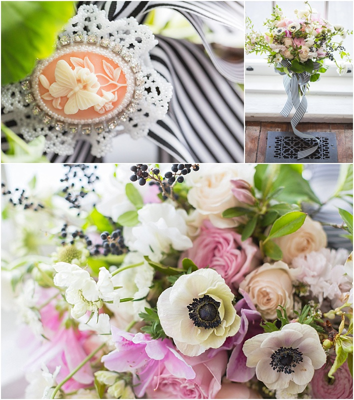 grace and serendipity - barkley house rose gold, peach, and sequin styled shoot - pensacola wedding planner